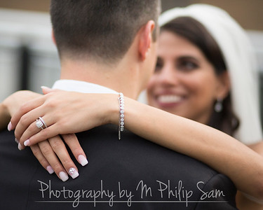 Stephanie Alhaj and Christopher Albert Wedding