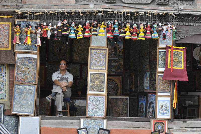 080523 3284 Nepal - Kathmandu - Temples and Local People _E _I ~R ~L.JPG