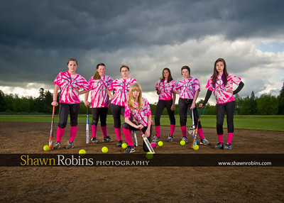 Blaine Softball 2012, Team Pictures - Color