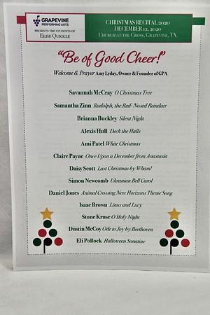 12-12-2020 Elise Quiggle Students @ GPA Recital