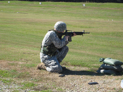 31st Rear Ops Center Weapons Qualification 2009
