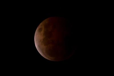 Lunar Eclipse - 8 October 2014