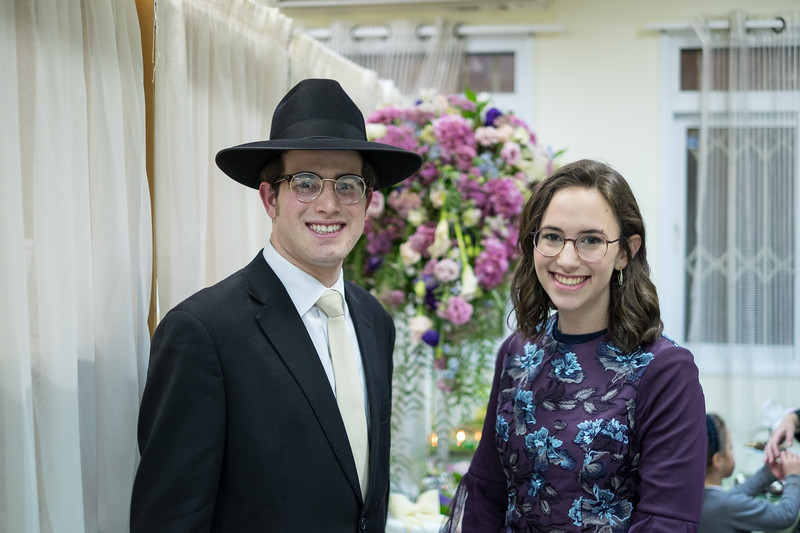 Avrumie Rubinstein and Rivka Rischall Engagement
