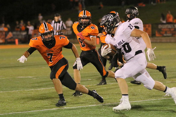 06d Football Pictures: Oak Hill at Wheelersburg 2017: FOURTH Quarter