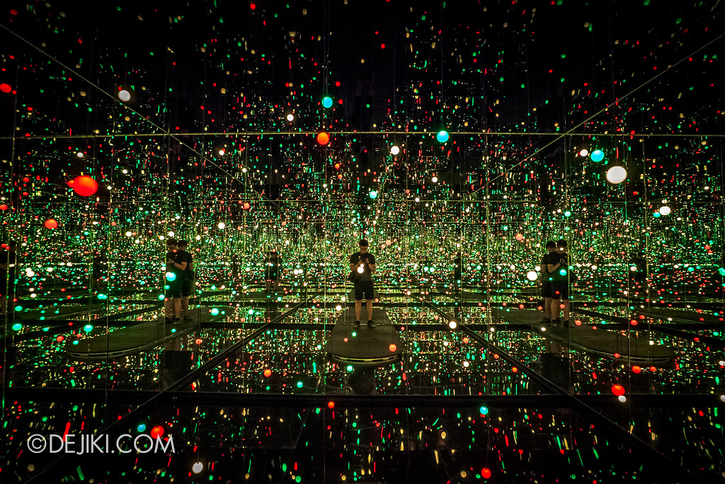 National Gallery Singapore - Yayoi Kusama: Life Is The Heart of A Rainbow / Infinity Mirrored Room: Gleaming Lights of the Souls