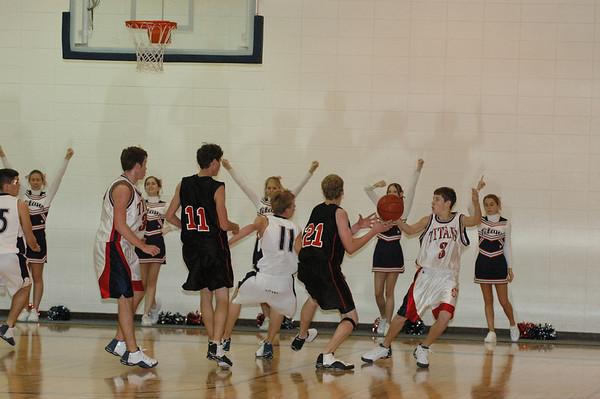 JV Boys Basketball vs Marysville