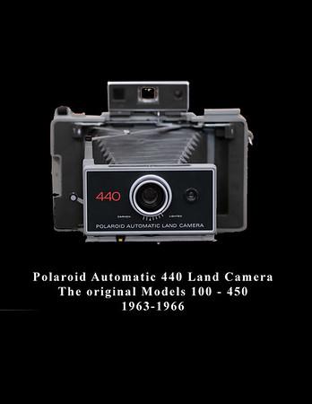 Polaroid Automatic 440 Land Camera