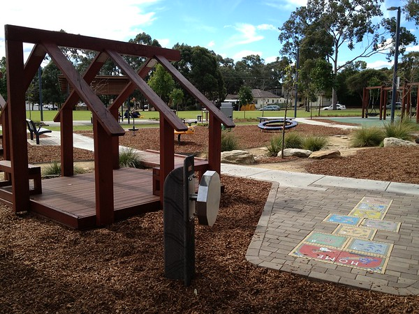 gazzard park all abilities playspace yagoona nsw