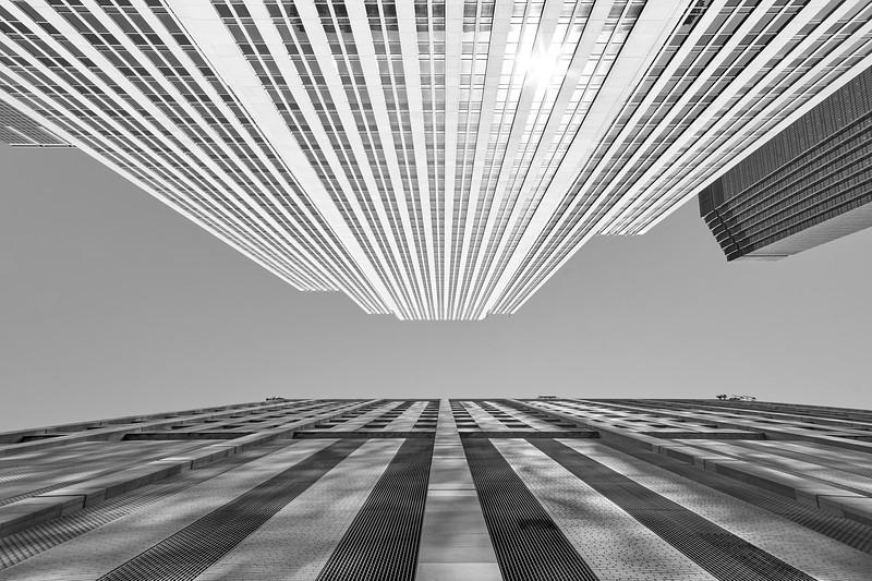 Sidewalk View of the Wells Fargo Center