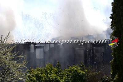 Syosset F.D. House Fire 3 Fams Court 4-4-12