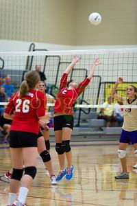 BLMS Volleyball vs Lansing - 8th Grade JV/V