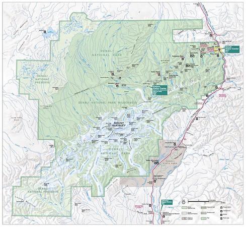 National Preserve Maps