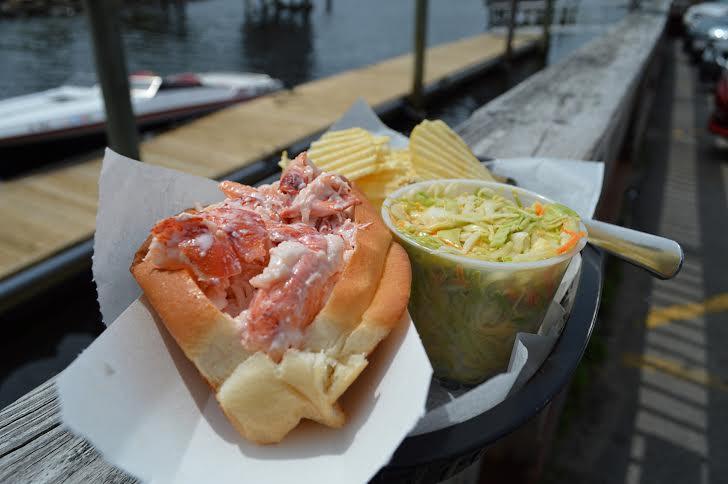 Ogunquit lobster roll