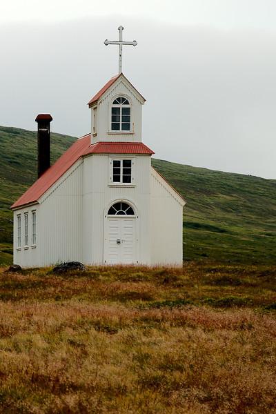 Grunnavík - Staður. Kirkjan á Stað í Grunnavík.