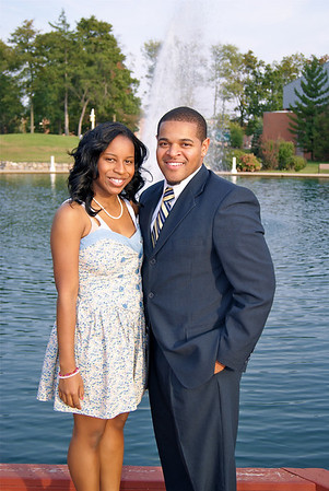 "Brian Taylor & Nicole Marie Johnson ""2010 EMU Homecoming"" Campaign"
