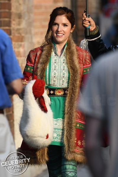 Kendrick At Christmas! Anna Kendrick Plays Santa Claus' Daughter!