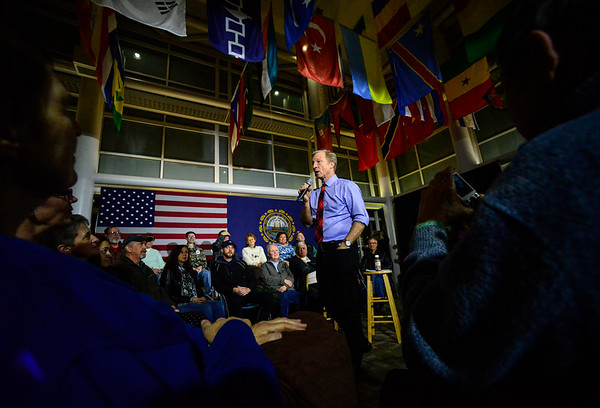 Steyer stumps in Keene - 020620