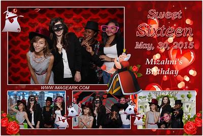 Mizahni's Sweet 16