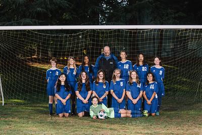 2019 JH Girls Soccer