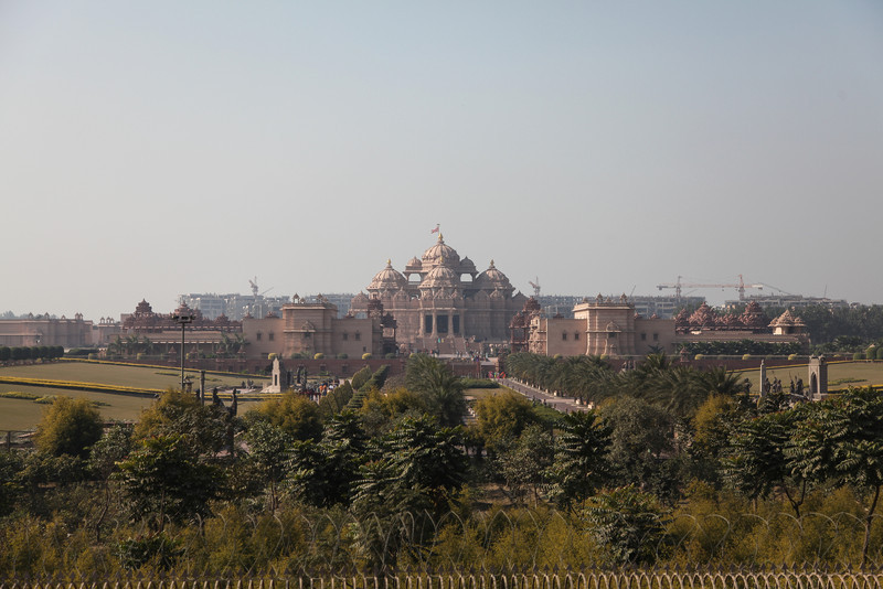 A view of Akshardham.