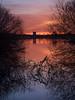 Sunset at Utterslev Marsh