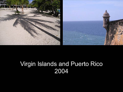 2004 Virgin Islands & Puerto Rico