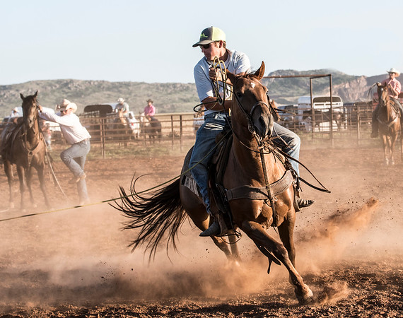 Garrett Reed Benefit Roping
