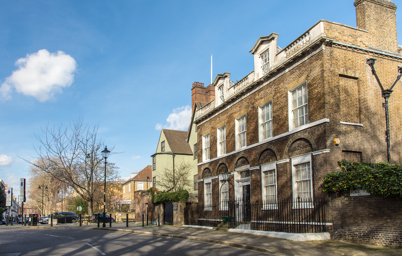Streets and houses of Islington