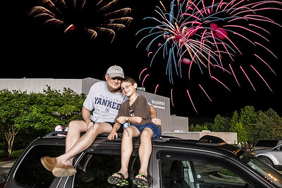 Fireworks 2013 Knights Stadium