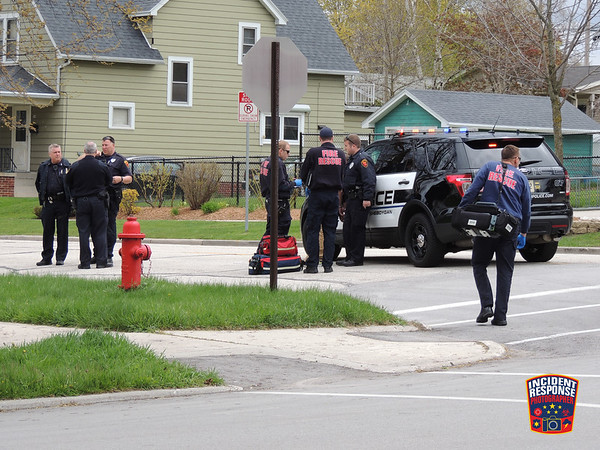 Vehicle Pursuit in Sheboygan on May 14, 2016