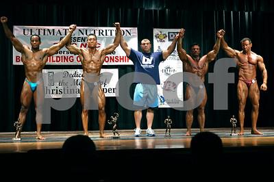 2009 NPC NJ & Tri-State Championships Awards & Comparisons