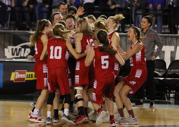 2019 3A Girls State Tournament Snohomish 42, Seattle Prep 39