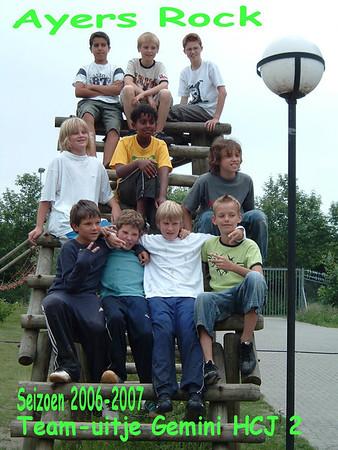 20070610 Teamuitje en diner Heren C-jeugd 2