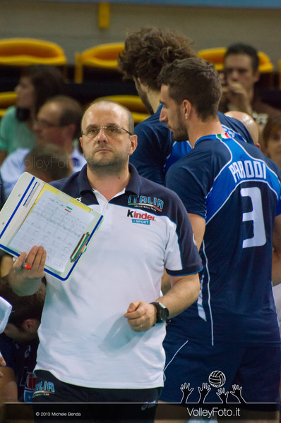 Mauro Berruto [ITA] - Italia-Iran, World League 2013 - Modena