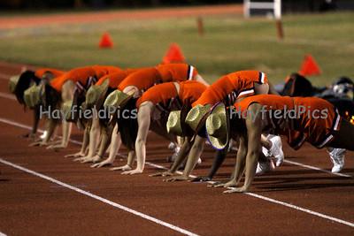 Cheerleaders Mount Vernon 10/8/10