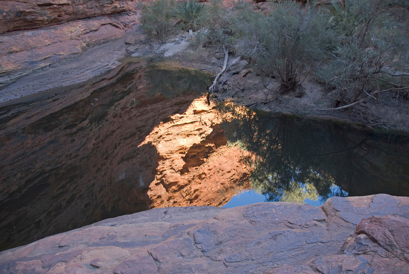 Reflection in Pool, Kings Canyon 2 - Northern Territory, Australia