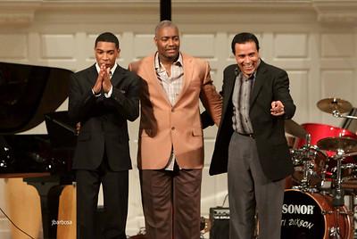 Christian Sands Trio at Yale Sprague Hall - Apr10