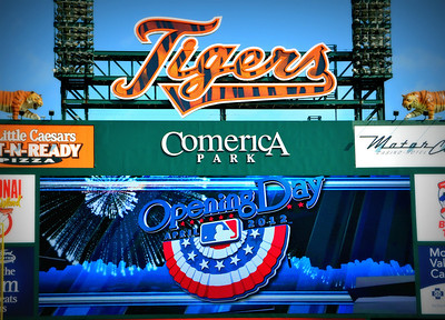 2012 Detroit Tigers Opening Day