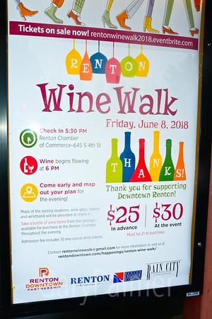 Renton Wine Walk June 2018