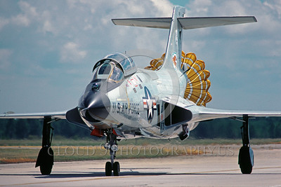 Air National Guard McDonnell F-101B Interceptor Parachute Airplane Pictures