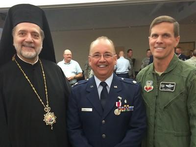 Retirement USAF Fr. Michael Bahlatzis