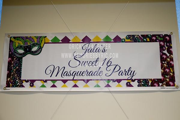 Jala Little Sweet Sixteen Masquerade Party