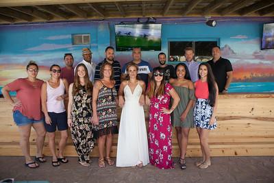 Berrios' Rehearsal Luncheon, Beach Front Grill, Flagler Beach, Florida