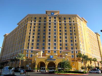 """Wyndham Grand Desert Resort"" in Las Vegas, Nevada- October, 2011"