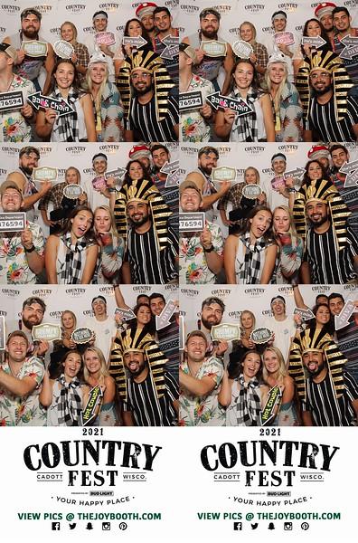 Country Fest 2021 GA TENT Thursday 6-24-2021