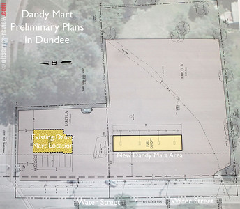 Preliminary Dandy Mart Plan