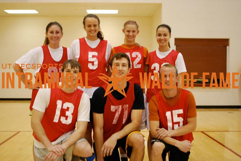 HOLIDAY BASKETBALL Coed Runner Up  Texas Cru  R1: Michael Dunn, Robert Foran, Blake McDonald R2: Amanda Cooper, Ashley Sunderhaft, Sarah Swanson, Johannah Goode
