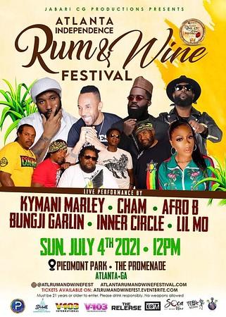 ATLANTA RUM & WINE FESTIVAL 2021