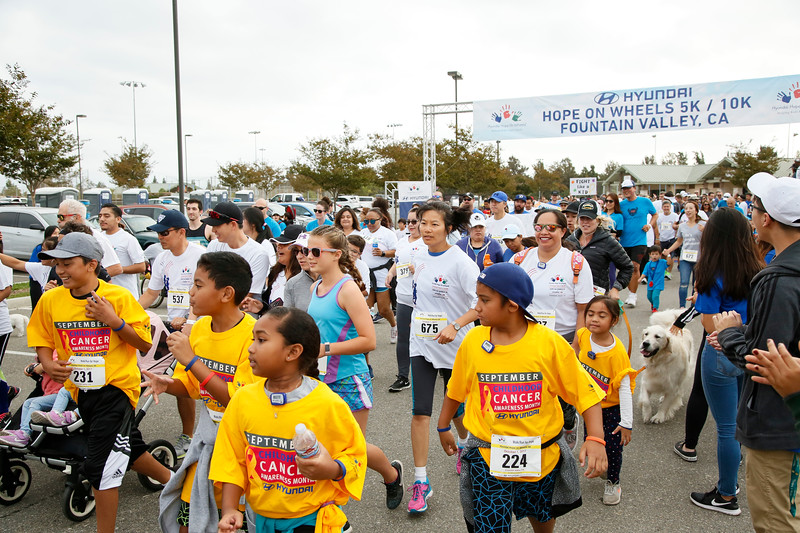 The Hyundai Hope on Wheels 5K/10K