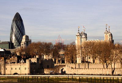 Embankment and the Tower of London